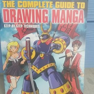 The Complete Guide to Drawing Manga by Marc Powell